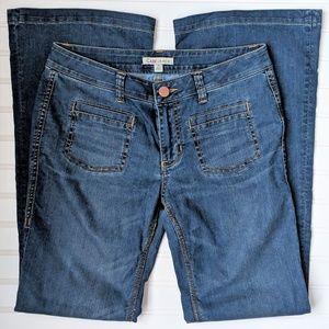 CAbi Retro Inspired Farrah Flare Jeans, size 6